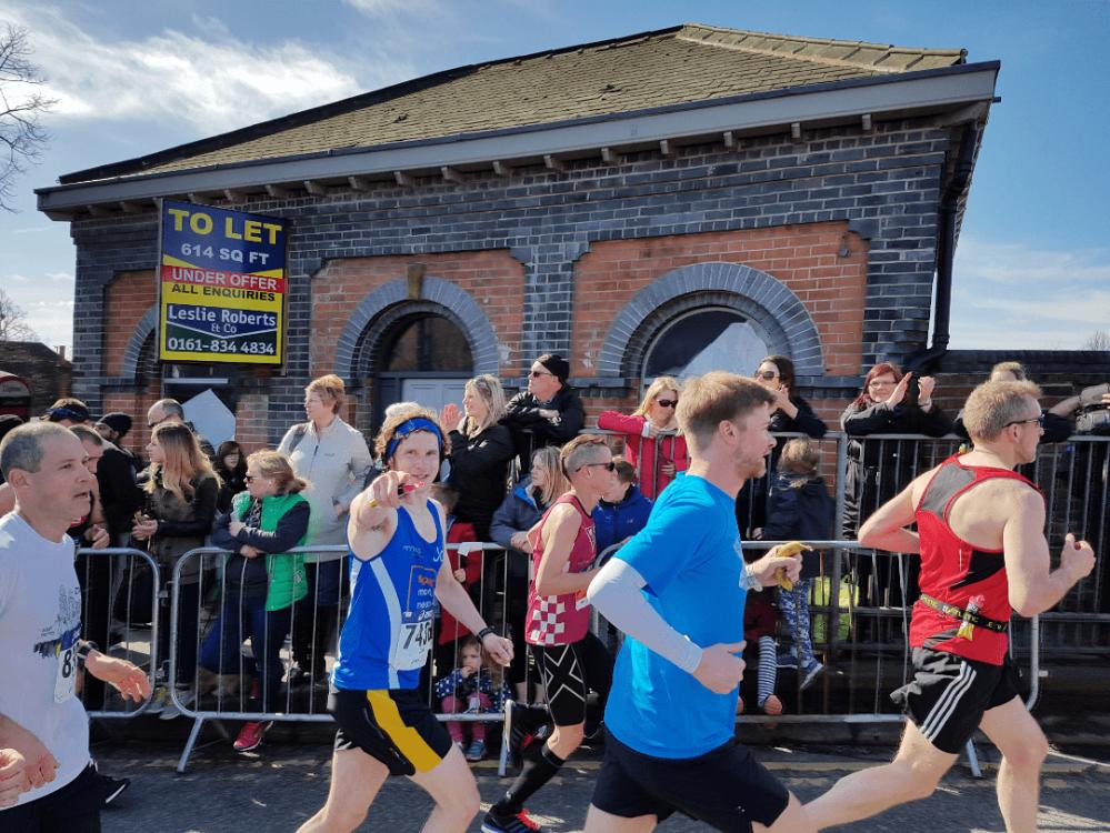 Greater Manchester Marathon Brooklands