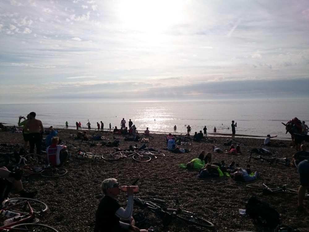 Dunwich Dynamo beach sea